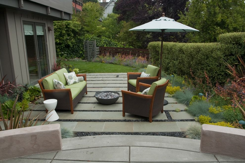Mor Furniture for Less for a Contemporary Landscape with a Grass and Outdoor Lounge by Shades of Green Landscape Architecture