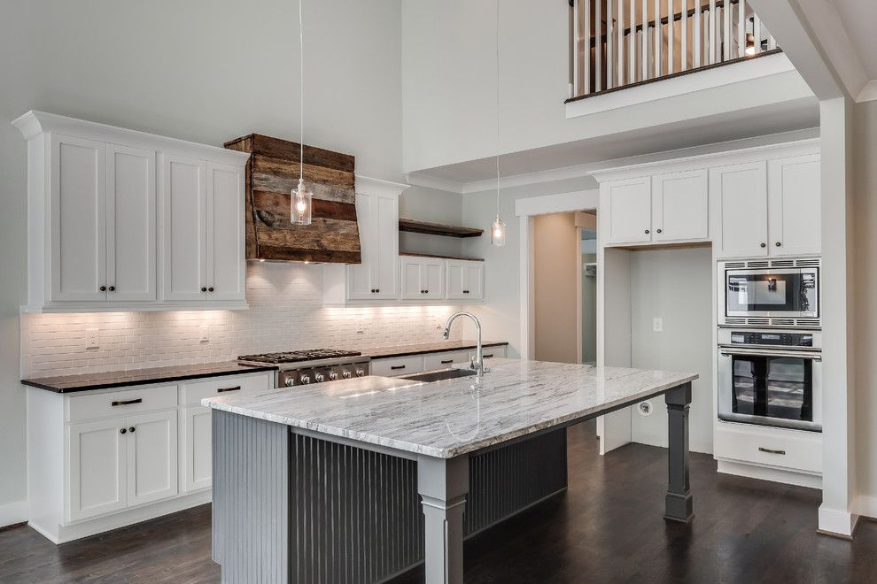 Msi Granite for a Craftsman Kitchen with a Stainless Steel Dual Fuel Range and Hillsboro Village Modern Bungalow by Marilyn Kimberly Hill, Interior Designer