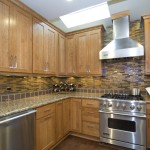 Msi Stone for a Contemporary Kitchen with a Kitchen Hardware and Case Design/remodeling, Inc. by Case Design/remodeling, Inc.