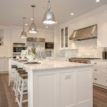 Msi Stone for a Farmhouse Kitchen with a White Countertop and Clyde Hill Modern Farm House by Calista Interiors