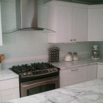 Msi Stone for a Modern Kitchen with a Chimney and Modern Cottage on a Budget by Painted Door Design