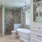 Msi Stone for a Traditional Bathroom with a Herringbone Pattern and Bathrooms by Artistic Tile & Stone
