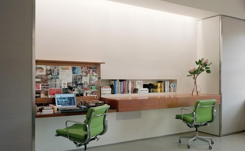 Muji Us for a Modern Home Office with a Modern and Roger Hirsch Architect by Roger Hirsch Architect