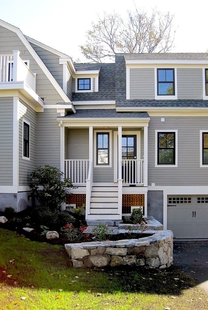 Mullioned Windows for a Traditional Exterior with a Balcony and Homer 008 by David Phillips