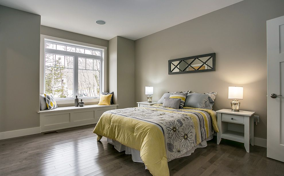 Multigenerational Homes for a Contemporary Bedroom with a Home Staging Halifax and Picket Fence Homes Lifestyle Home by Staged for Upsell