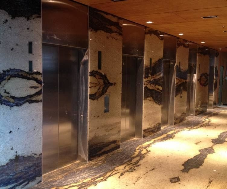 Mystic Granite for a Industrial Spaces with a Industrial and Exotic Stone Installs by Mystic Granite & Marble