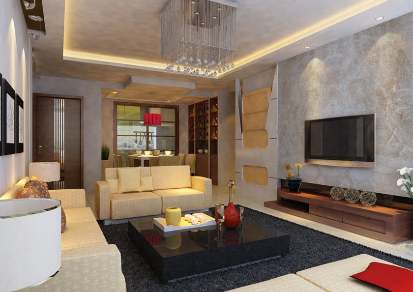 Mystic Granite for a Modern Living Room with a Taj Mahal and Exotic Stone Installs by Mystic Granite & Marble