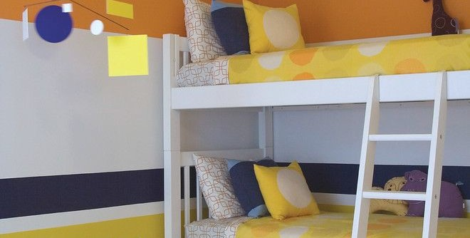 Nadeau Miami for a Contemporary Kids with a Kartell and Miami Townhouse by Amy Lau Design
