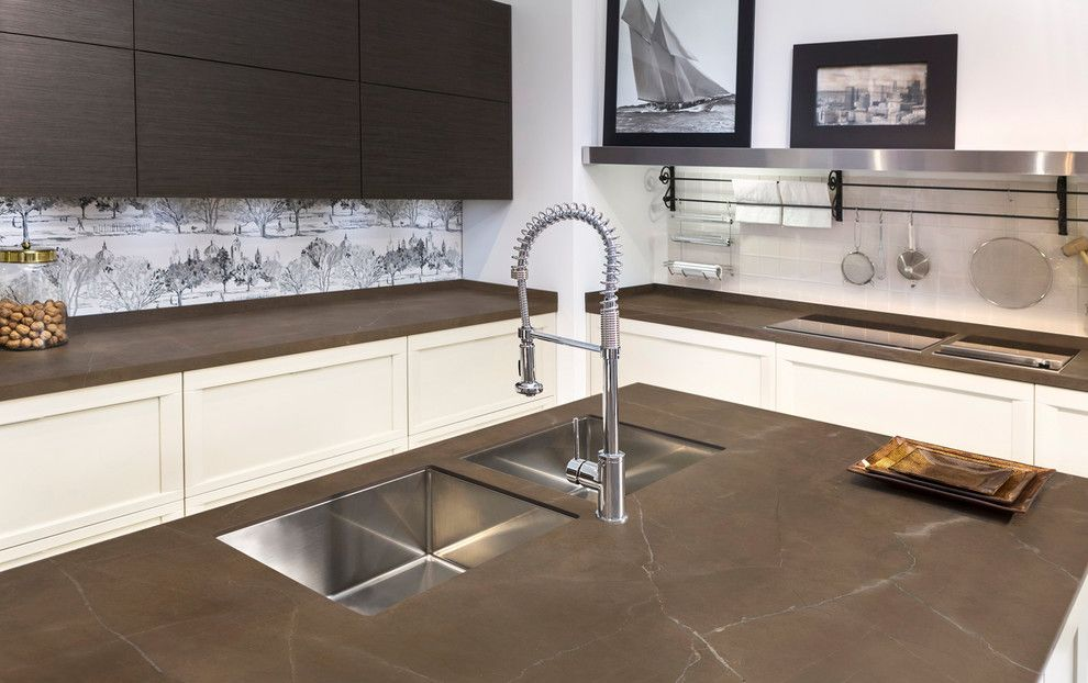 Neolith Countertops for a Modern Spaces with a Neolith and Modern Kitchen - Neolith by Stone Center