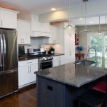 New Caledonia Granite for a Contemporary Kitchen with a Kitchen Design and West Barnstable Kitchen by Emerald City, Llc
