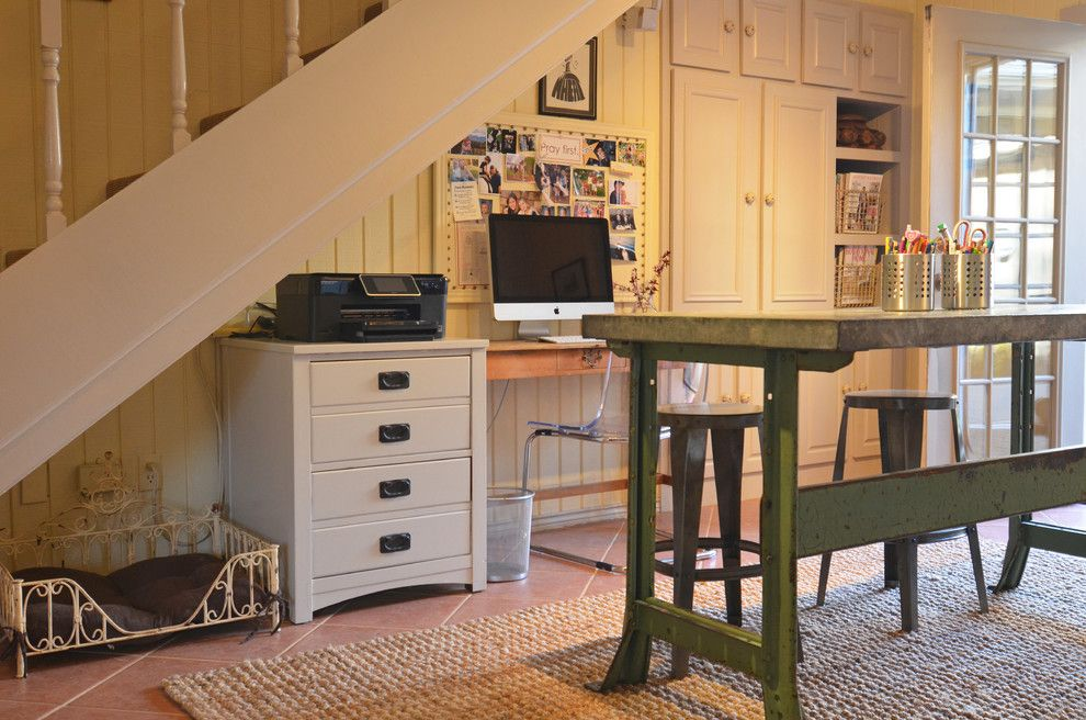 Newjersey.craigslist.org for a Traditional Home Office with a Traditional and Dallas, Tx: Matt & Kathryn Janes by Sarah Greenman