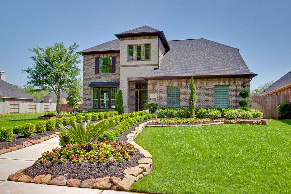 Newmark Homes for a Traditional Exterior with a New Home and Newmark Homes   Elevation   Regensburg by Newmark Homes