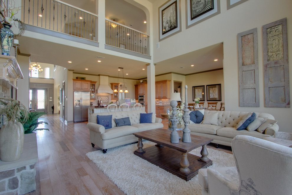 Newmark Homes for a Traditional Family Room with a One Story and Newmark Homes   Family Room   Ravenna by Newmark Homes