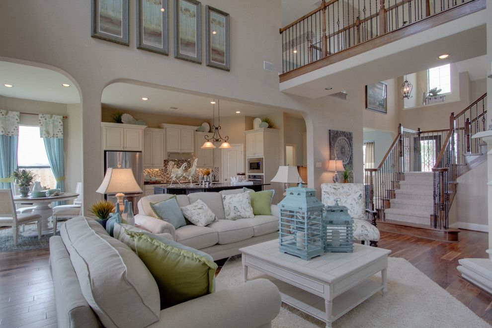 Newmark Homes for a Traditional Family Room with a Traditional and Newmark Homes   Family Room   Windsor by Newmark Homes