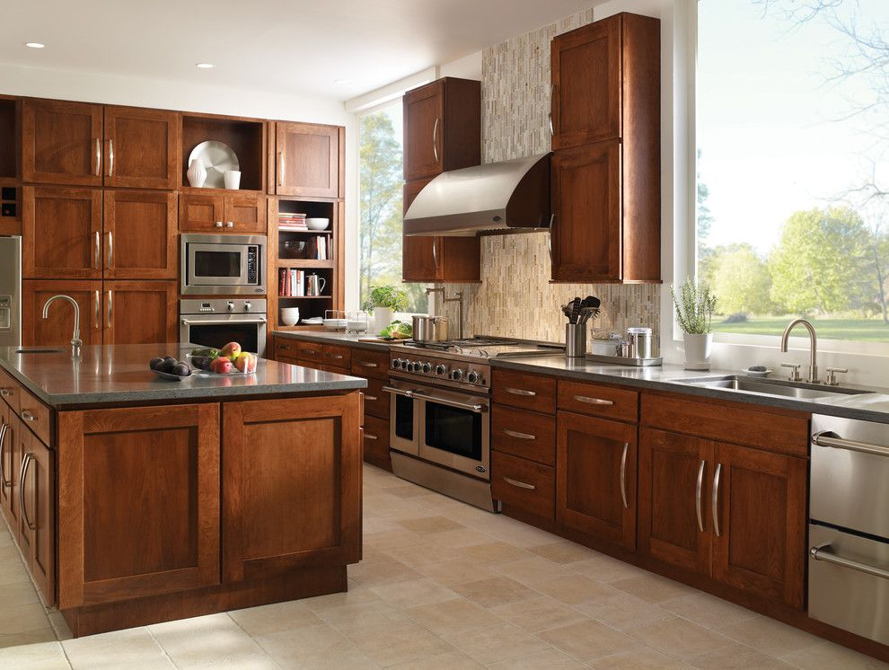 Newport Brass for a Contemporary Kitchen with a Shaker Cabinets and Newport Brass Kitchen by Newport Brass