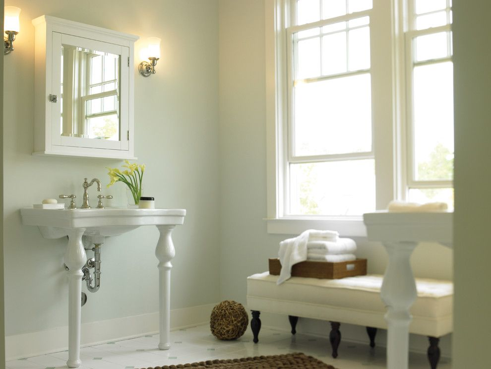 Newport Brass for a Traditional Bathroom with a Faucet and Victoria Widespread Faucet by Newport Brass