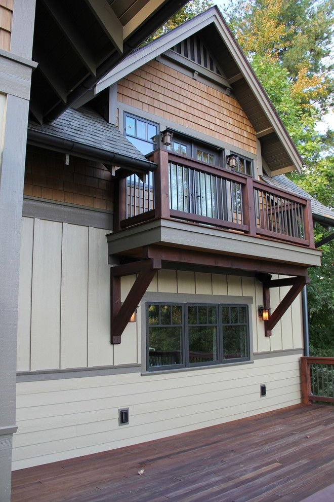 Nichiha for a Craftsman Exterior with a Arts Crafts and Bertsch Furimsky by Living Stone Construction, Inc.