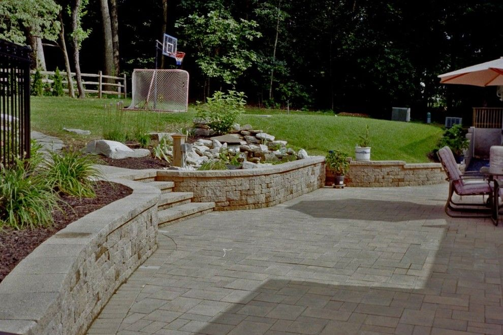 Nicolock Pavers for a  Spaces with a Ep Henry and Paver Patios by Kingdom Landscaping