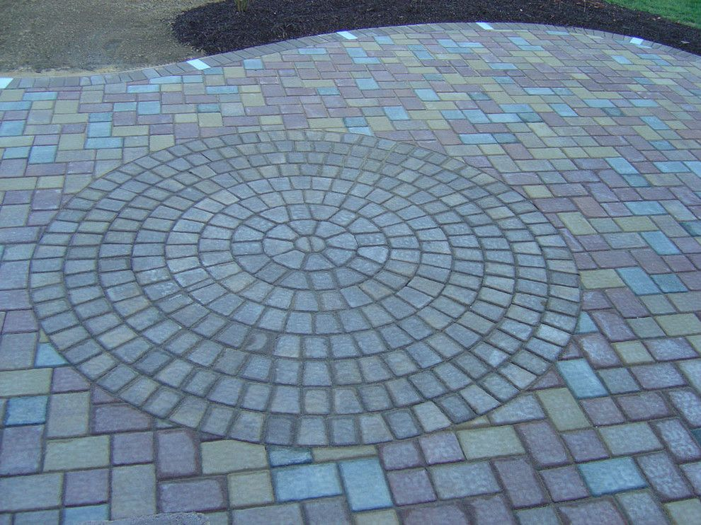 Nicolock Pavers for a  Spaces with a Paver Patios and Paver Patios by Kingdom Landscaping