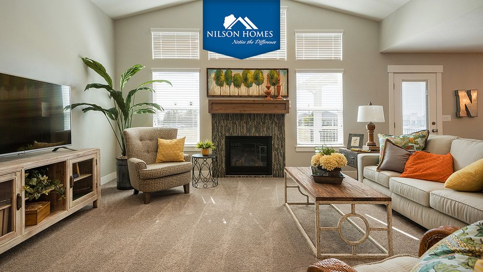 Nilson Homes for a Craftsman Spaces with a Monterey and 2015 Parade of Homes by Nilson Homes