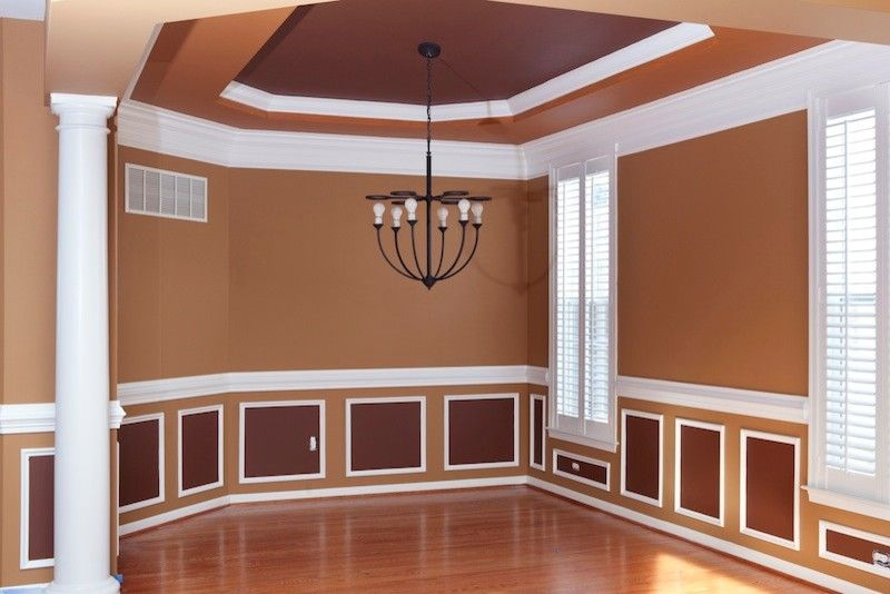 Nolan Painting for a Traditional Dining Room with a Gladwyne House Painters and Interior Paint Projects by Nolan Painting Inc.