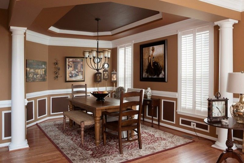 Nolan Painting for a Traditional Dining Room with a Painting Contractor and Interior Paint Projects by Nolan Painting Inc.