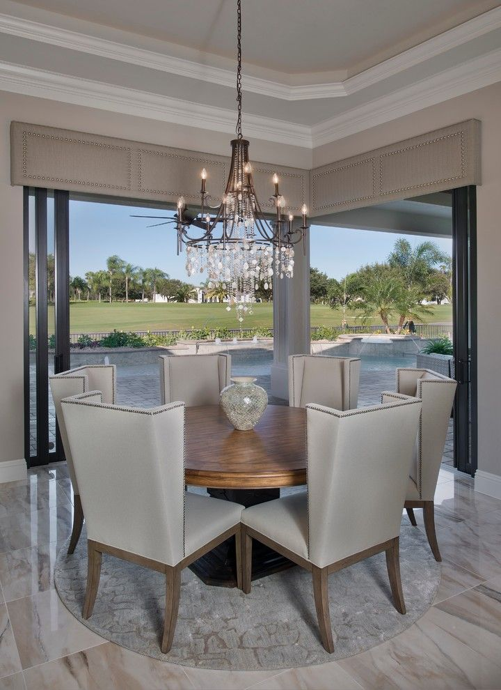Norris Furniture for a Mediterranean Dining Room with a Mediterranean and