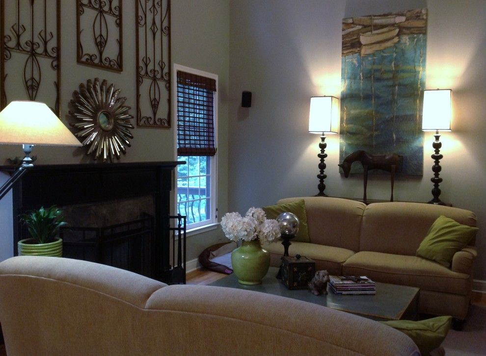 Norwood Furniture for a Transitional Family Room with a Transitional and Guynes Residence by Norwood Interior Designs