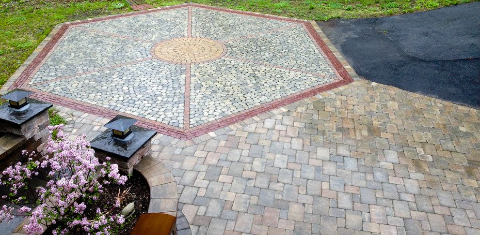 Nps Pool Supply for a Craftsman Spaces with a Landscaping Latham Ny and Paver Patios, Stone Patios, Retaining Walls   Albany, Troy, Clifton Park, Latham by Pearl Landscaping & Patio Company