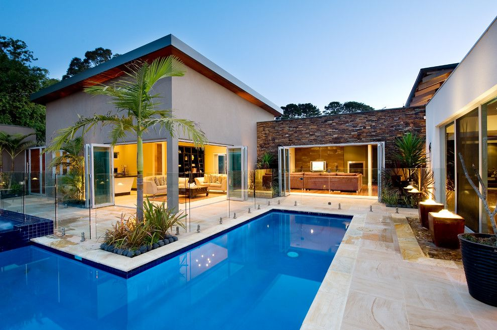 Nps Pool Supply for a Mediterranean Pool with a Resort Home and Noosa Villa by Design Unity by Design Unity