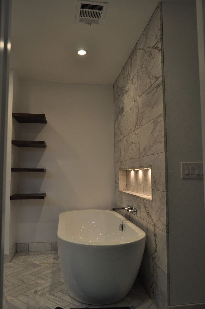 Nws Austin for a Contemporary Bathroom with a Master Bathroom and Barton Master Bathroom Addition by Nws Construction