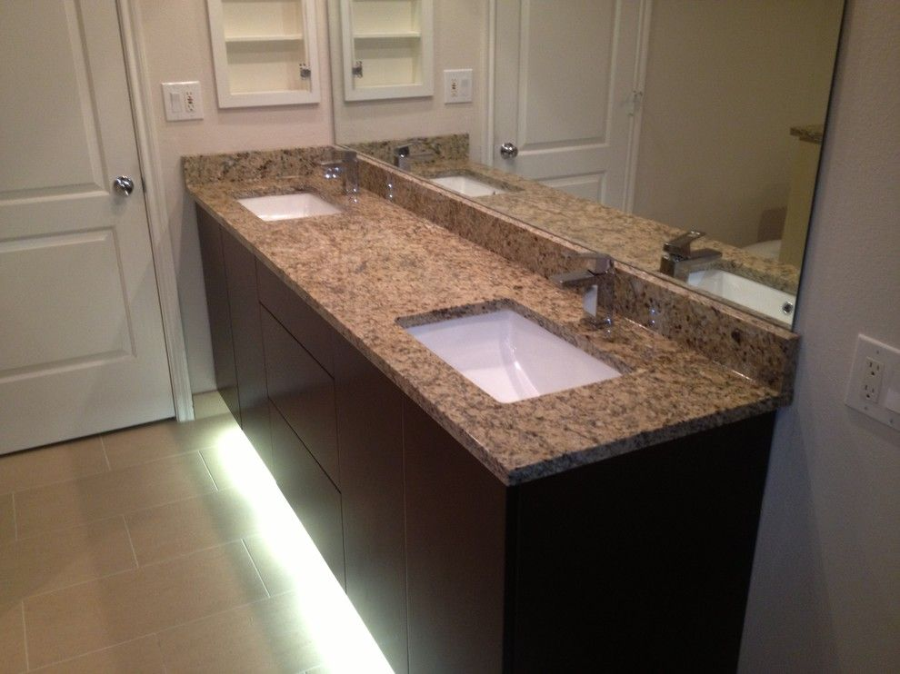 Nws Austin for a Transitional Bathroom with a Master Bathroom and Master Bath Renovation on 360 by Nws Construction