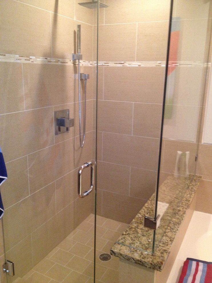 Nws Austin for a Transitional Spaces with a Master Bathroom and Master Bath Renovation on 360 by Nws Construction
