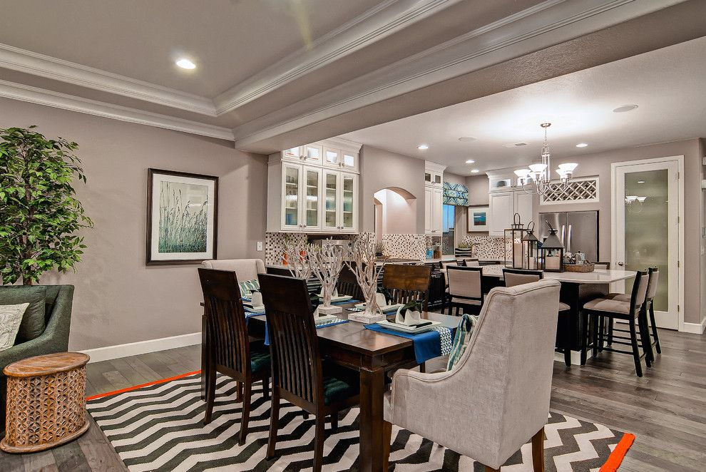 Oakwood Homes for a Contemporary Dining Room with a Denver and the Telluride  Oakwood Homes by Oakwood Homes