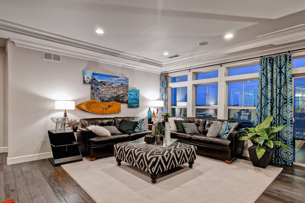 Oakwood Homes for a Contemporary Family Room with a Family Room and the Telluride  Oakwood Homes by Oakwood Homes