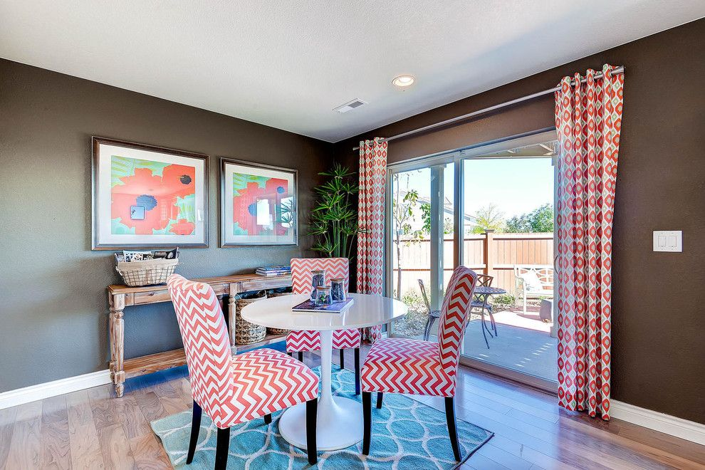 Oakwood Homes for a Transitional Dining Room with a Red Accents and the Telega by Oakwood Homes