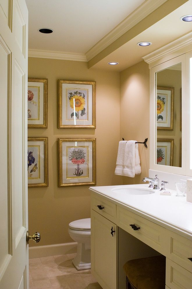 Oakwood Homes Omaha for a Traditional Bathroom with a Ceiling Lighting and Traditional Bathroom by Bfrasierarch.com