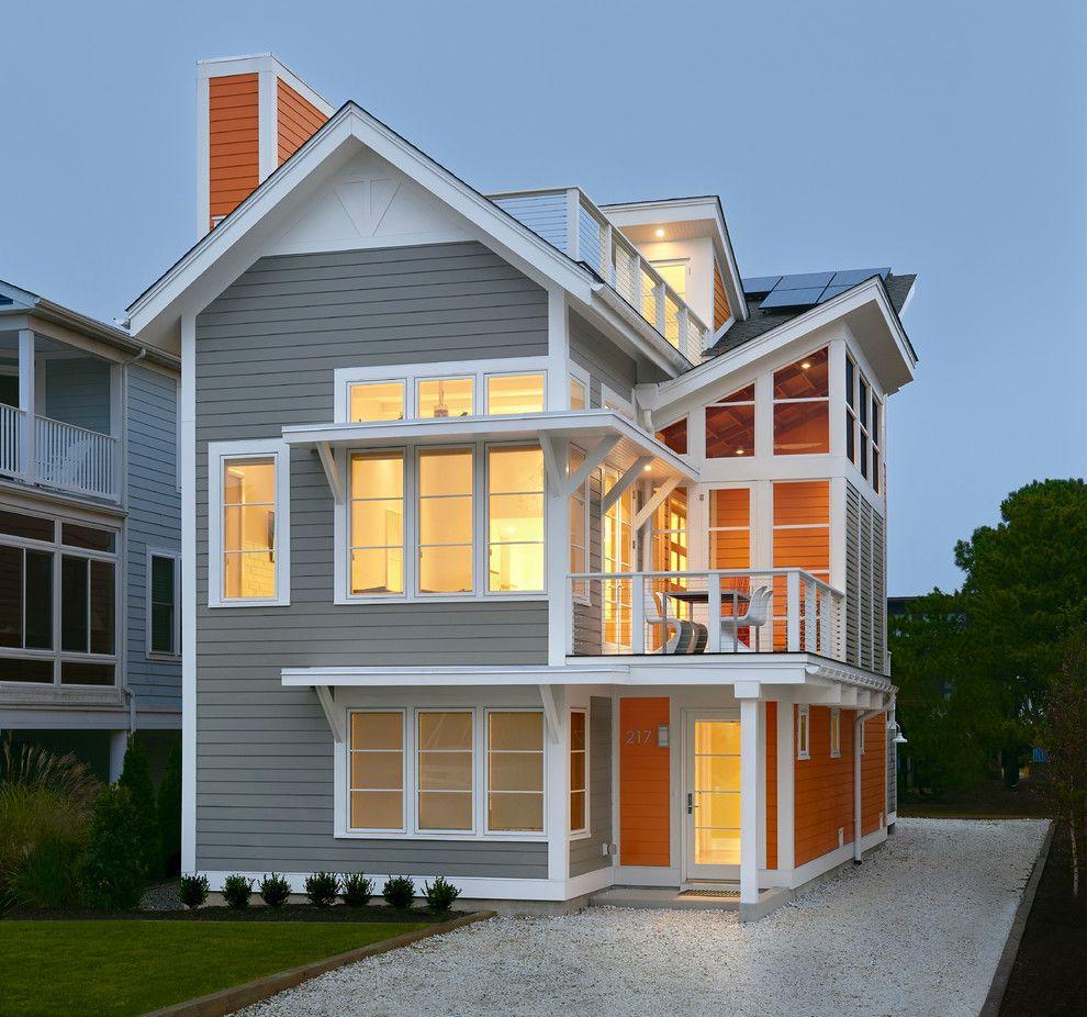 Ocean House Islamorada for a Beach Style Exterior with a Solar Shades and Ocean View House by Scott Edmonston Architecture Studio