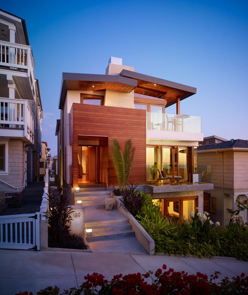 Ocean House Islamorada for a Contemporary Exterior with a Planters and Walk Street Entry Porch by Rockefeller Partners Architects