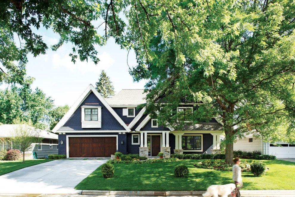 Ocean House Islamorada for a Traditional Exterior with a Blue Wood Siding and Woodland by Kurt Baum & Associates