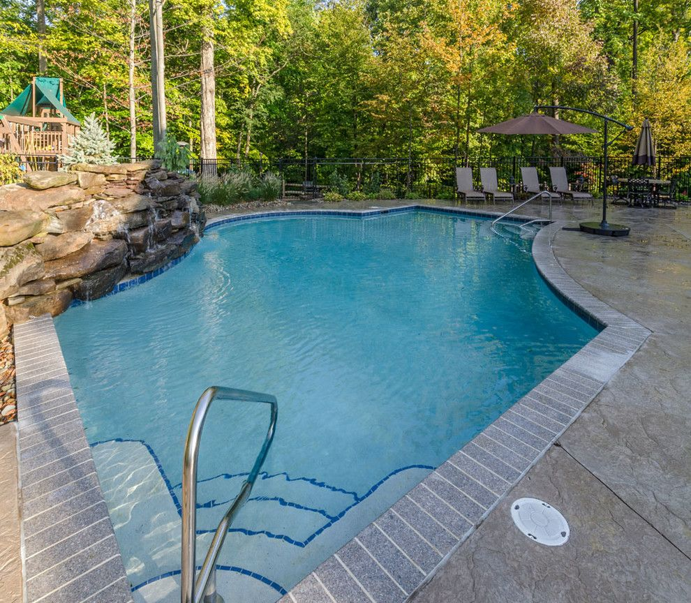 Ohio Pools and Spas for a Traditional Pool with a Traditional and Pools & Spas by the Ohio Valley Group, Inc.