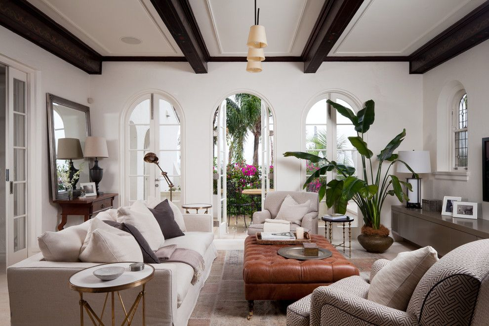 Oly Furniture for a Mediterranean Living Room with a Indoor Plants and Living Room   Manly by Salt Interiors Joinery
