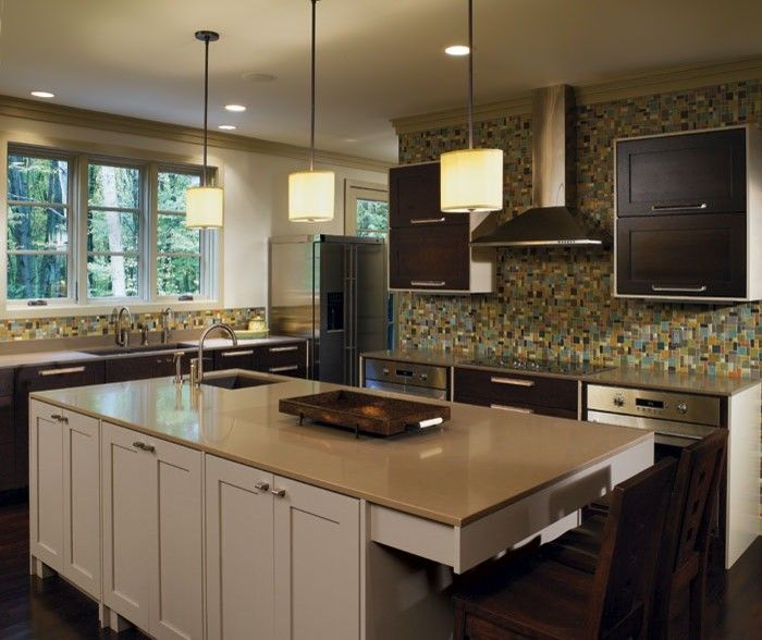 Omega Cabinetry for a Eclectic Kitchen with a Dynasty Cabinetry and Dynasty by Omega Cabinetry by by Design Kitchen and Bath Solutions