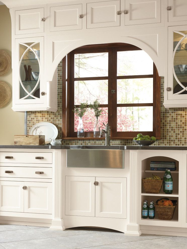 Omega Cabinets For A Traditional Kitchen With A Omega Kitchen And Omega  Cabinetry: Utrill Inset