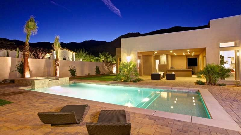 Orco Block for a Contemporary Pool with a Modern and Pool Deck by Orco Block & Hardscape