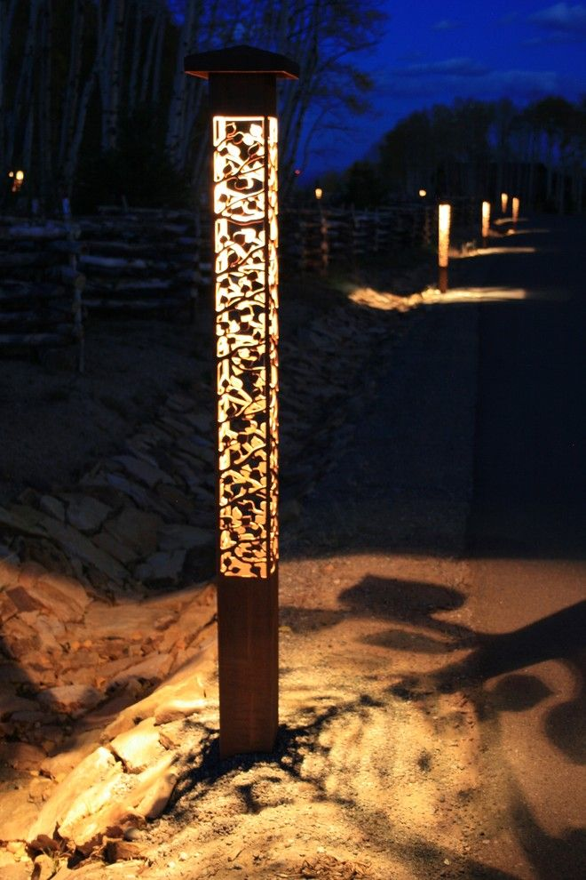Outdoor Lighting Perspectives for a Contemporary Landscape with a Outdoor Lighting Perspectives and *New* Outdoor Lighting Perspectives Sculpture Lights by Outdoor Lighting Perspectives of Chattanooga