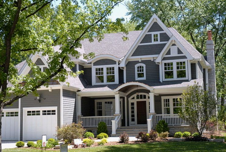 Owens Corning Cultured Stone for a Traditional Exterior with a Porch and Live Downtown Naperville Tour by Siena Custom Builders, Inc.