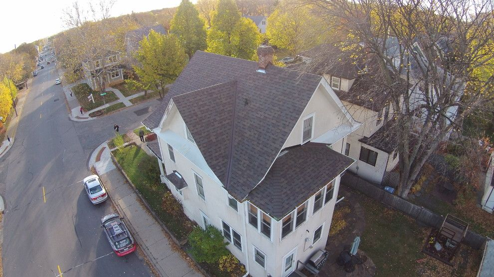 Owens Corning Duration for a Traditional Exterior with a Residential Roofing and Roof Installation, Owens Corning