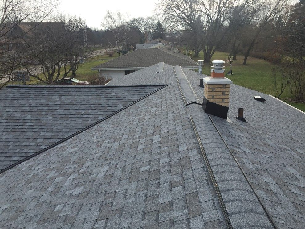 Owens Corning Roofing for a  Exterior with a Tru Vent Soffit and Owens Corning Roof with New Fascia and Soffit by Exterior Pros
