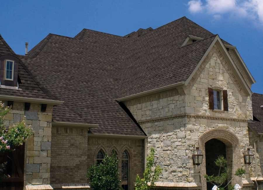 Owens Corning Roofing for a Traditional Exterior with a Traditional and Owens Corning Asphalt Roofing Shingles by Rmr Roofing Construction